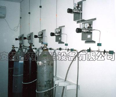 双侧式气体集中供气系统